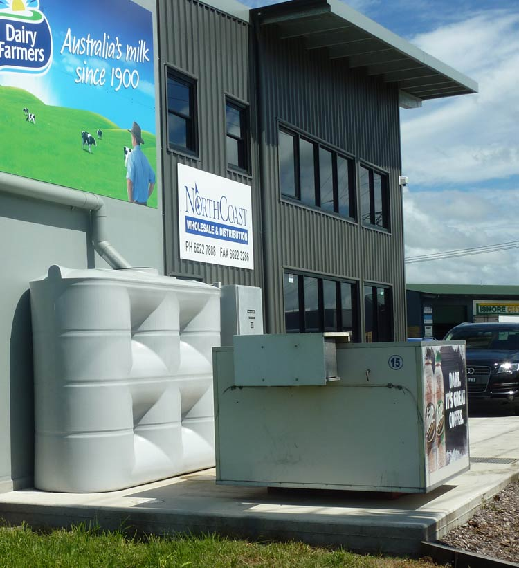 5,000 Litre Slimline Factory Water Supply Tank