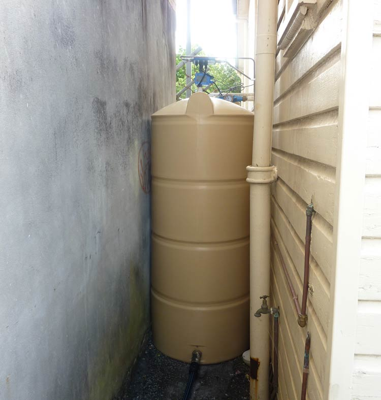 2 X 3,000 Litre Slimlines at Local Council Building