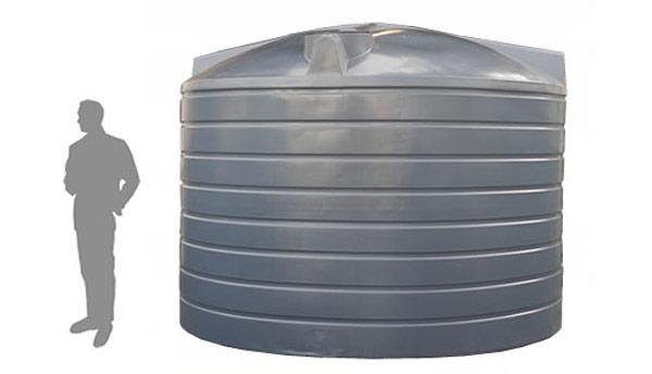 R22700 Litre / 5000 Gallon Upright Rainwater Tank | The Water Tank Factory