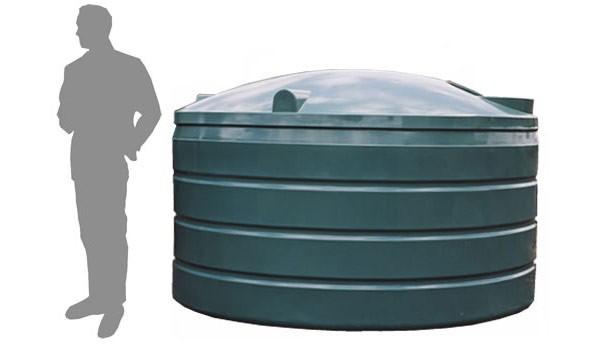 R3900 Litre Squat Rainwater Tank