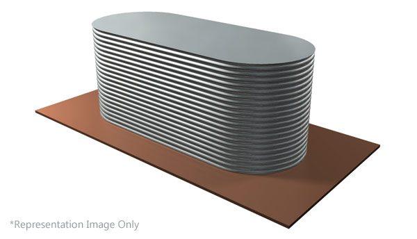 STD Slimline Steel Water Tank