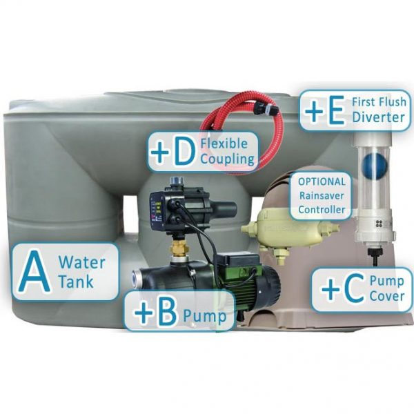 5000-litre-urban-slimline-water-tank-package-1-with-pump