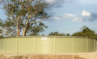 LT370S Rural Steel Panel Tank (almost 400000 litres of water storage)