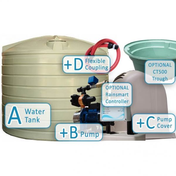 Rural-R13500-Litre-Tank-Package-with-trough