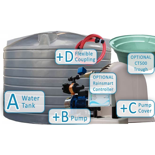 water tank package deals