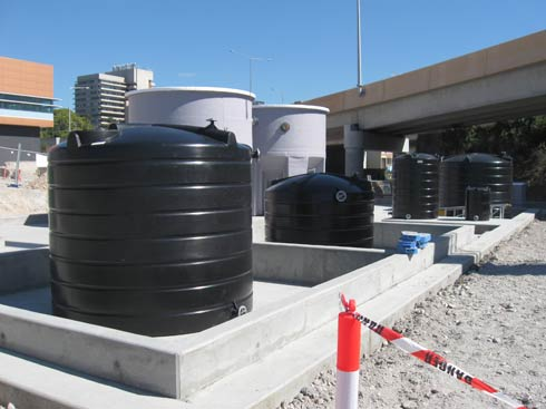Poly Chemical Tanks