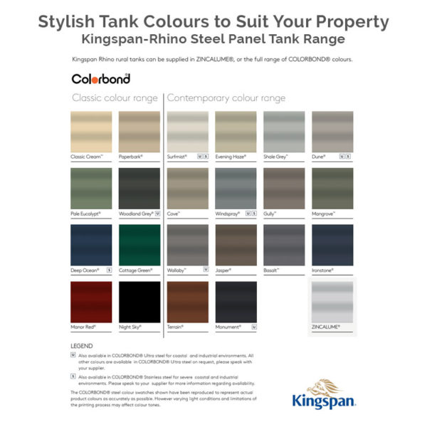 Kingspan-Rhino-Tank-Colour-Range